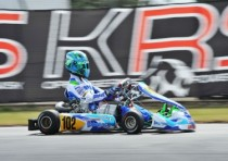 the circuit of muro leccese is hosting the k3rd round of the wsk super master series