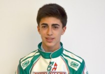 tony kart racing team david vidales ok junior driver