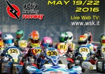the wsk super master series k2016 is approaching its finale the last event of the series is on schedule at the adria karting raceway rovigo from k19th to k22nd may with the categories k60 mini ok junior ok kz and kz2