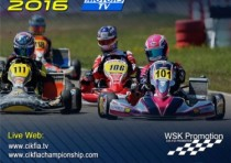 the circuit of adria hosts the european cik fia karting championship with its second round of the ok okj and kz2 categories