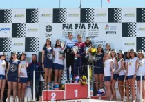 at the european cik fia championship zuera the winners of the finals are the polish karol basz ok kosmic vortex the danish noah watt okj tony kart vortex and the czech patrik hajek kz kosmic vortex