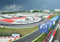 curtain opened on the cik fia european championship at the adria karting raceway
