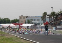 karting sarno is the home track of campionato italiano karting k2nd round