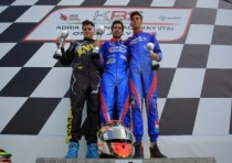 strong performance of our four drivers during the krs open series at adria