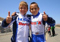 another one two finish for the benik brand rotax competition