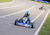wins podiums and championships for benik the united states pro kart series