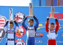 benik kart sweeps micro max podium at us open of las vegas