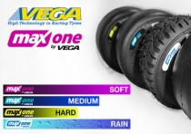 maxspeed group introduces vega tire for rotax k2017