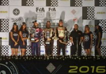 pedro hiltbrand crg parilla ok and victor martins f kosmic parilla okj are the new world champions at the end of the world k2016 cik fia championship of karting