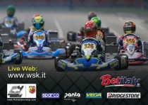 k200 drivers are expected to take part the wsk champions cup at the weekend of k29th january the season opener will be hosted by the italian circuit of adria