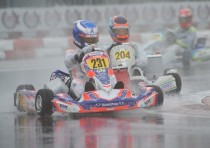 the first leaders of the wsk super master series provisional standings after the k1sr round at the adria karting raceway