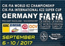 cik fia world kz championship and international kz2 super cup wackersdorf