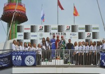 cik fia european championships ok ok junior academy trophy final races at alaharma fin