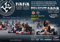 the cik fia european championship goes to its second round genk b